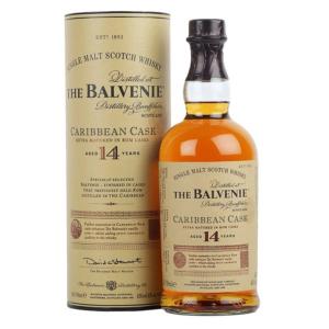 Balvenie 14 Year Old Caribbean Cask Whisky 700ml