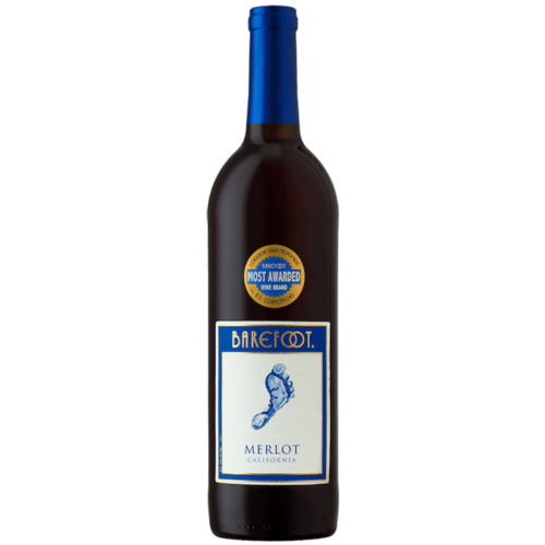 Barefoot Merlot Red Wine 750ML