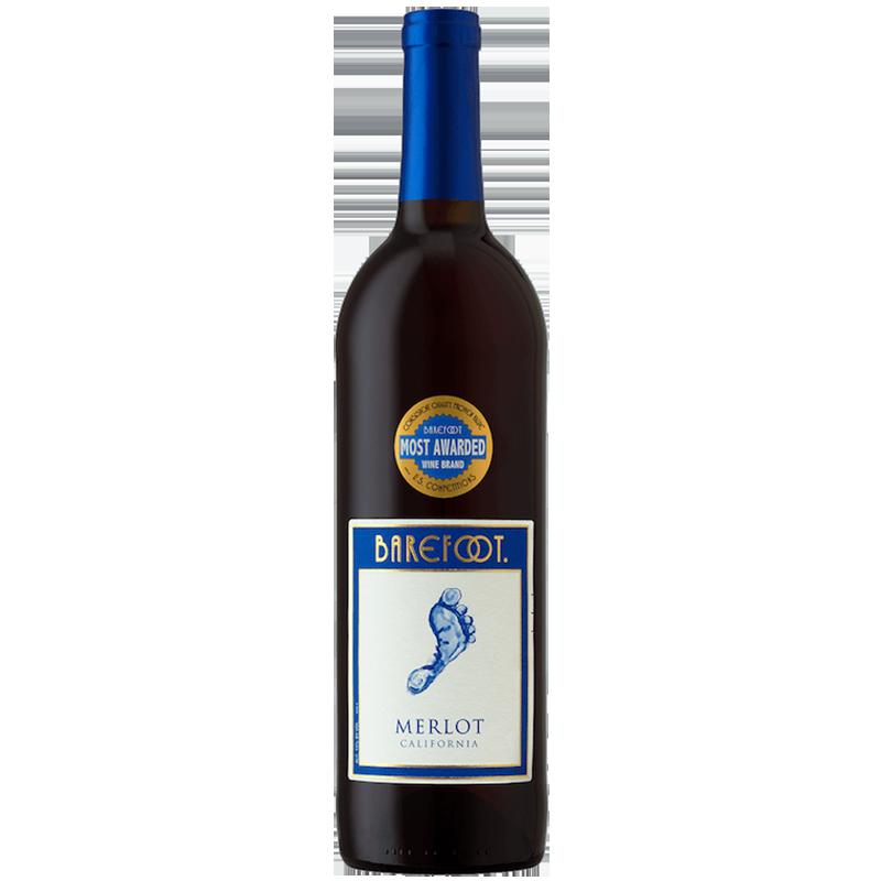 Barefoot Merlot Red Wine 750ML