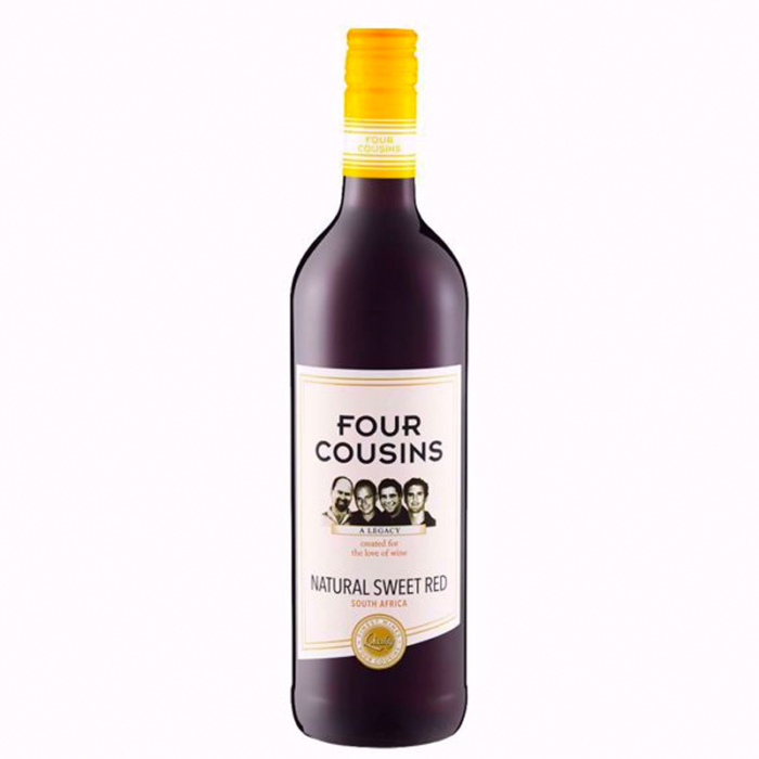 Four Cousins Natural Sweet Red 750ML