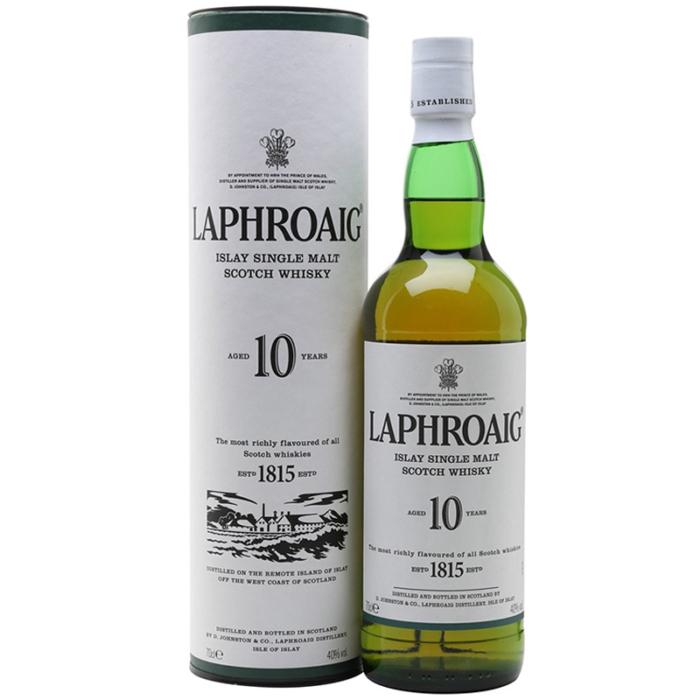 Laphroaig 10 Year Old Single Malt Scotch Whisky 1L