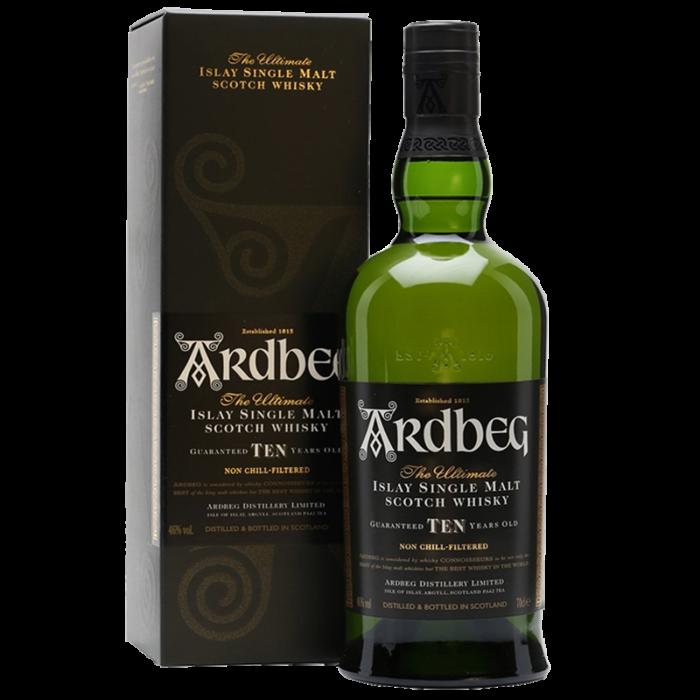 Ardbeg 10 Year Old Scotch Whisky 1000ML