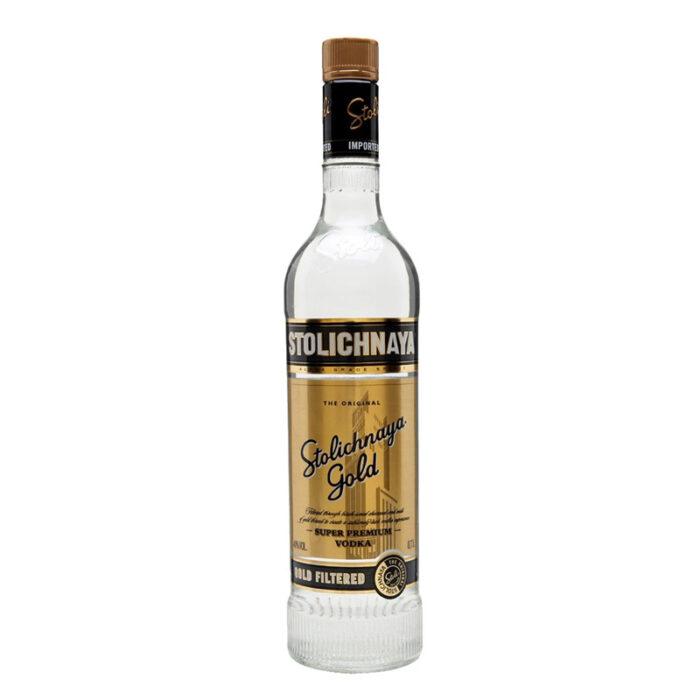 Stolichnaya Vodka Gold 1000ML