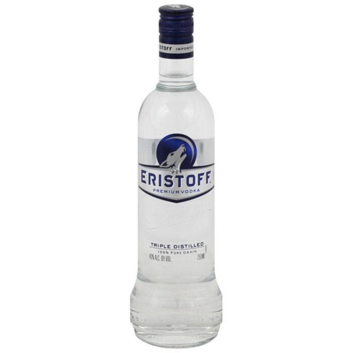 Eristoff Triple Distilled Premium Vodka 750ML