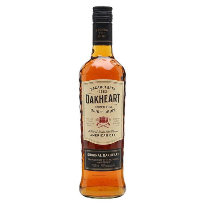Bacardi Oak Heart Rum 700ML