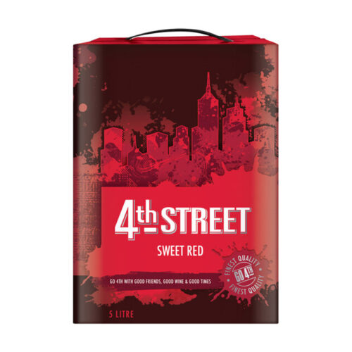 4th Street Natural Sweet Red 5 Litres
