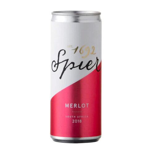 Spier Merlot Canned 250ML