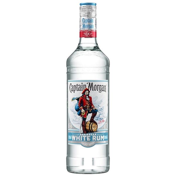 Captain Morgan White Rum 1000ml