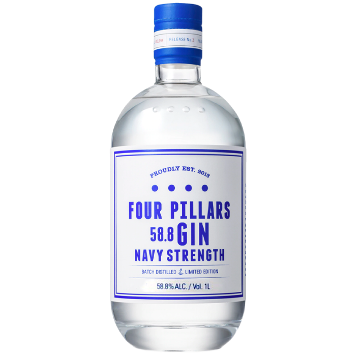 Four Pillars Navy Strength Gin 1000ml