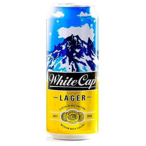 WhiteCap Beer Can 500ml